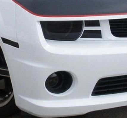 35/% Light Smoke Precut Vinyl Tint Cover for 2010-2013 Chevrolet Camaro Headlights