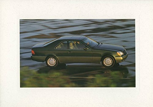300ce Coupe (1993 Mercedes Benz 300CE Coupe Salesman's Note Card)