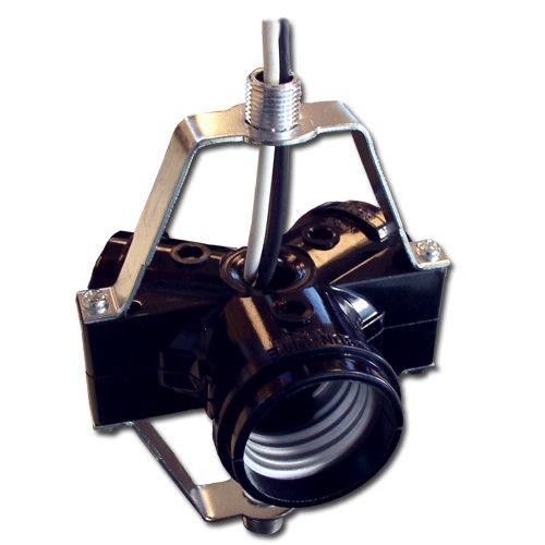 LH0598 Incandescent 3 light medium base lampholder: Amazon.com ...
