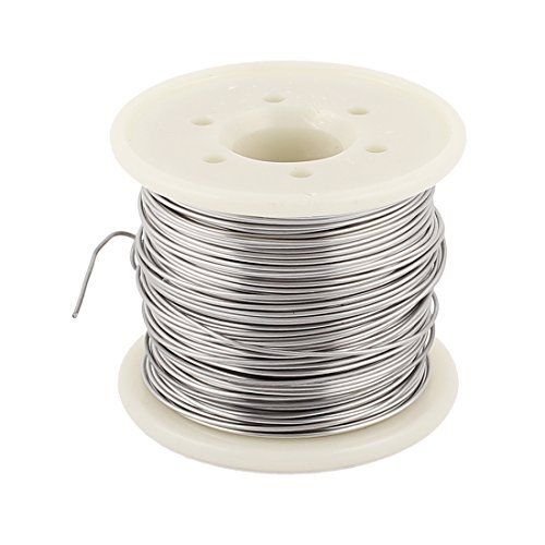 eDealMax Nichrome 80 0, 8 mm 20 Gauge AWG 20M Rollo 2, 308 Ohm/m alambre del calentador: Amazon.com: Industrial & Scientific