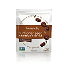 Somersaults Sunflower Seed Bites, Dutch Cocoa, 6 Ounce, 6 Count
