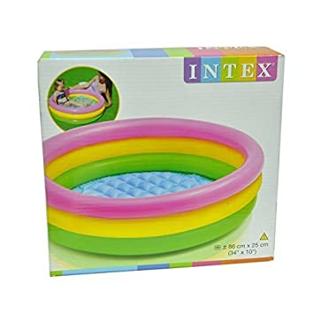 Buy INTEX INFLATABLE BABY POOL BATH WATER TUB FOR KIDS Online at ...