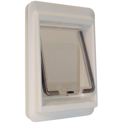 Ideal Pet Products E-Cat Electromagnetic Pet Door with 4 Way Lock, 7'' x 9'' Flap Size by Ideal Pet Products (Image #1)