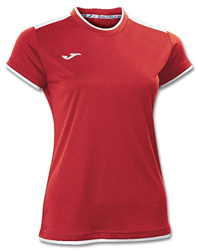 Joma 900017.102 Camiseta, Mujer Rojo / Blanco