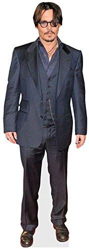 Johnny Depp (schwarz Jacket) Life Größe Cutout