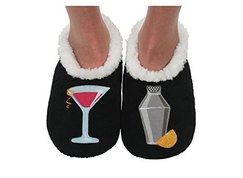Slipper Classic Womens Applique Socks Splitz Cosmopolitan Snoozies wIxRTFqvn