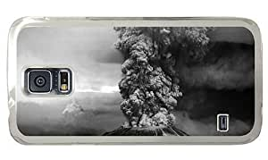Hipster Samsung Galaxy S5 Case 1980 mount st helens eruption PC Transparent for Samsung S5 by icecream design