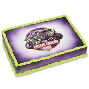Monster Jam Edible Image Cake Decorating Topper / 1 Image