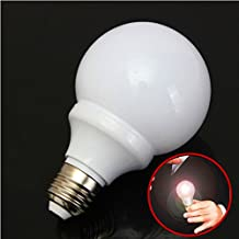 New Magic Light Bulb Magnetic Control Trick Costume Joke Mouth LED