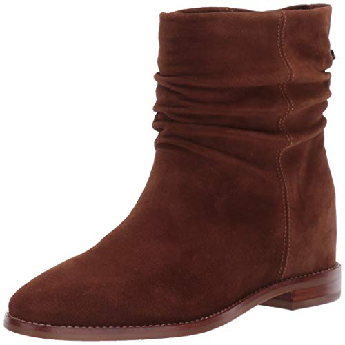 Aquatalia Women's Caleigh Suede Ankle Boot, Chestnut, 5.5 M US Aquatalia By Marvin K Sneakers