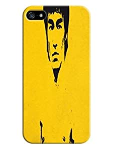 2015 New Style Popular Bruce Lee Attractive Design fashionable for iphone 5/5s TPU case/cover/Shield hjbrhga1544