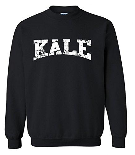 Adult-Kale-Vegan-Vegetarian-White-Crewneck-Sweater