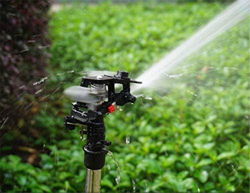 ADDG Boquilla giratoria automática para jardín móvil Aspersor de jardinería Boquilla de riego para césped a Gran Escala: Amazon.es: Hogar