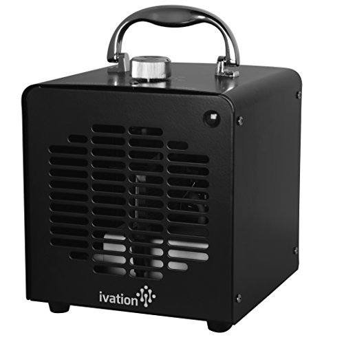Ivation Air Purifier Ozone Generator, Ionizer & Deodorizer for Up to 1,000 Sq/Ft - 5000mg/h - Great for Dust, Pollen, Pets, Smoke & More