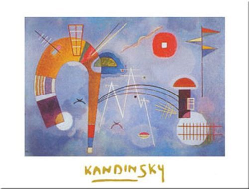 Used, Rond Et Pointu by Wassily Kandinsky 9.5x12 Art Print for sale  Delivered anywhere in Canada