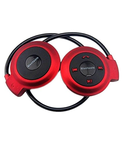 Defloc Mini S503 Over Ear Wireless Headphones with Mic Red