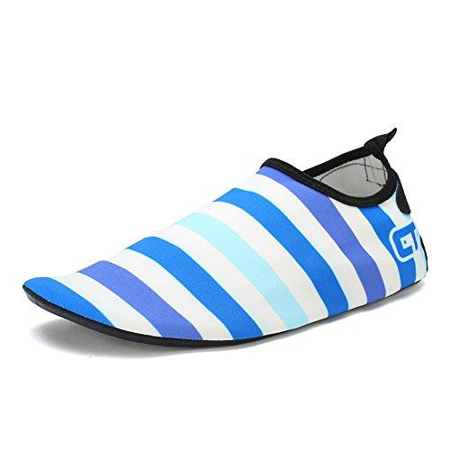 cheaper a5704 3bf1c FCKEE Wasser Schuhe Aqua Schuhe Aqua Socken Slip-On Barfuß Leicht Quickdry  Durable Sole Mutifunktional