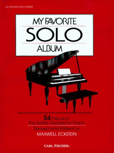 (O3223 - My Favorite Solo Album - Piano)
