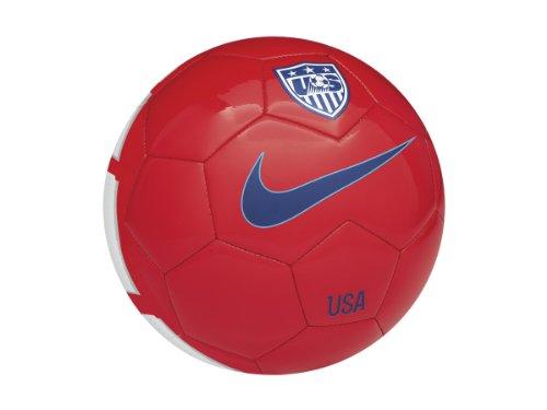 Nike USA Supporters Ball [Red] (5) (Nike Soccer Usa)