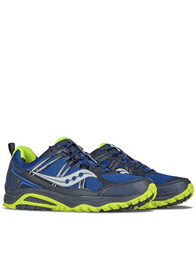 Grid Light Running Royal Trail Yellow Shoe Saucony Blue Men's Fluo Excursion Tr10 7nR5q