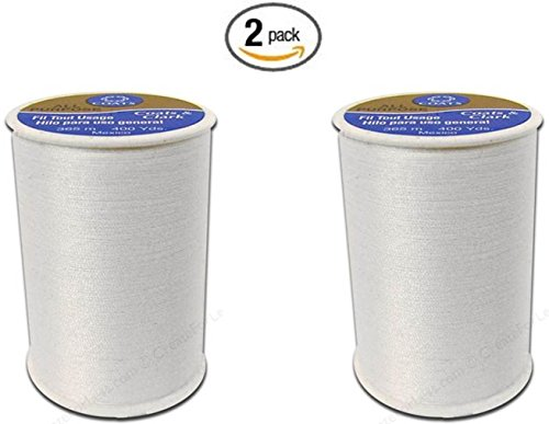 Coats & Clark All Purpose Thread 400 Yards White