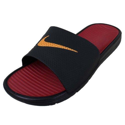 Nike - Sandalias de playa Benassi Solarsoft Soccer negro - negro