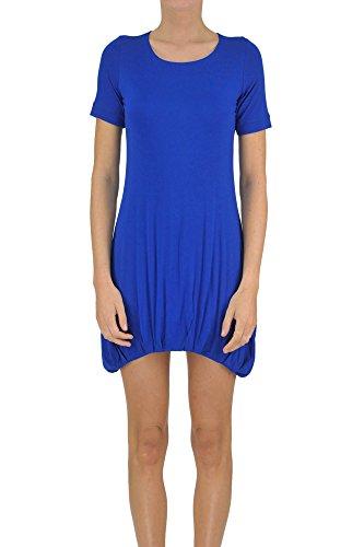 Dondup Women's Mcglvs003008e Blue Viscose Dress by Dondup