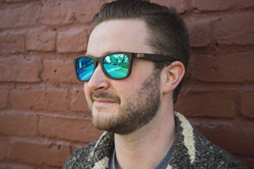 9333a2418d Bamboo Wood Sunglasses - Polarized handmade wooden shades in a wayfarer  that Floats!
