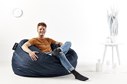 Big Joe 0010657 Fuf Foam Filled Bean Bag Chair Large