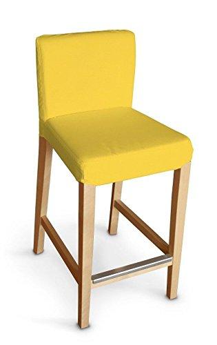 Dekoria Ikea Henriksdal bar stool cover - sunshine yellow