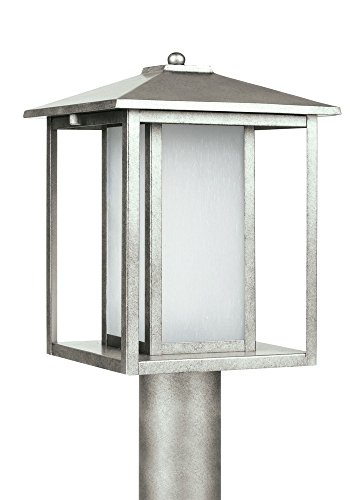 Sea Gull Lighting 89129-57 Huntington Outdoor Fixture, One-Light, Weathered Pewter Finish by Sea Gull Lighting