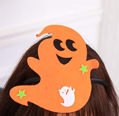 Classic Cute Party Ornament Halloween Classic Cute Head Buckle COS Stage Decoration Headband Party Supplies(Ghost)