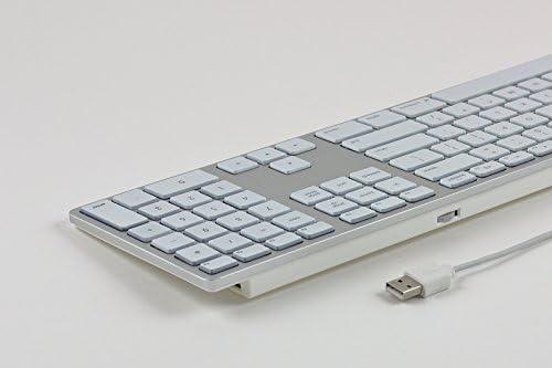 Matias Fk318ls De Aluminum Wired Tastatur Mit Computer Zubehör