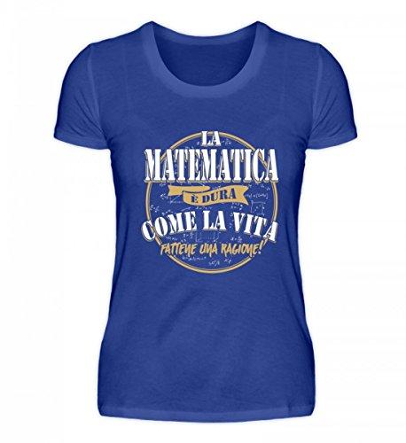 Premium Donna Alta Camicia Matematica Qualit La Vita Di Come SBgxwR