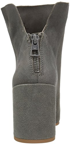 Leder Stiefel Lucky Rund Pumps Frauen Grey Steel Fashion Ravynn Brand HwwS0qX