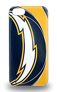 Protective Tpu 3D PC Soft Case With Fashion Design For Iphone 5/5s NFL San Diego Chargers Logo ( Custom Picture iPhone 6, iPhone 6 PLUS, iPhone 5, iPhone 5S, iPhone 5C, iPhone 4, iPhone 4S,Galaxy S6,Galaxy S5,Galaxy S4,Galaxy S3,Note 3,iPad Mini-Mini 2,iPad Air )