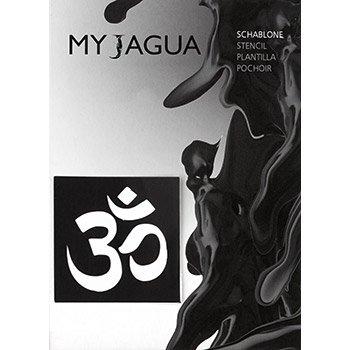 Plantilla Símbolo de OM | para Henna, Jagua & aerógrafo Tatuajes ...