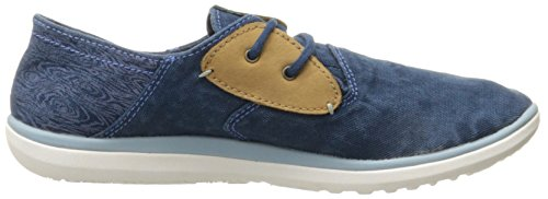 Merrell de las mujeres del zapato con cordones de Duskair Azul (Blue Wing)