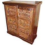 Mogul Interior Antique Sideboard Chest Furniture Tv Console Cabinet
