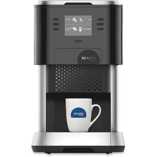 MARS DRINKS(TM) FLAVIA(R) Creation 500 Brewer, 17 1/8in.H x 10 5/8in.W x 20in.D, Black/Silver