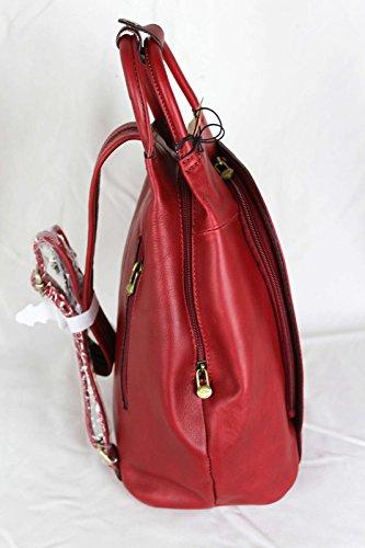 CADEAU SURPRISE à petit réf sac dos cuir en Rouge Katana 322018 48qFRnWwR