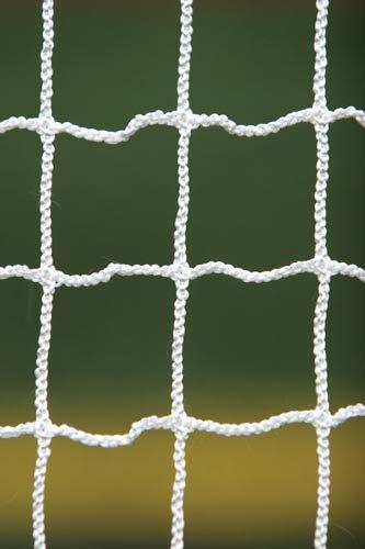 Brine Practice Lacrosse Net 2.5-mm Hi-Extension Polyester Knotless 1.5-Inch Mesh-6 x 6 x 7-Feet (Black)