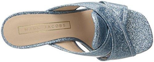 Marc Jacobs Kvinna Aurora Mule Ljusblå