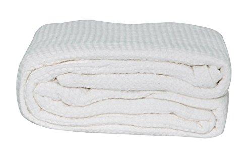 lcm-home-fashions-cotton-thermal-blanket-king-white