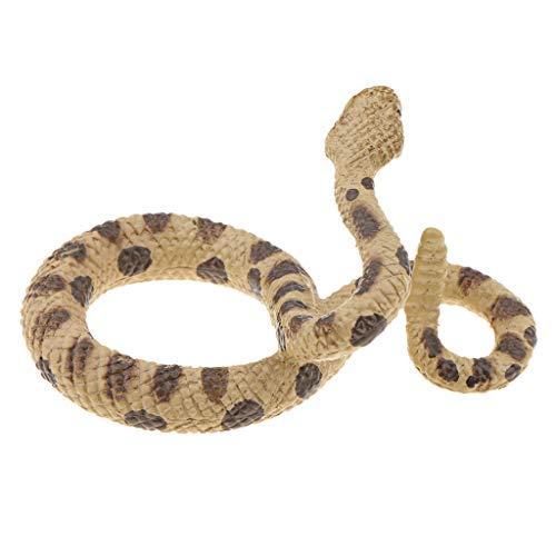 D DOLITY Simulation Plastic Snake Fake Artificial Snake Rattlesnake Model Toy Animals for Halloween ()