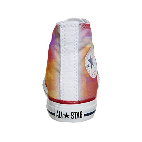 Converse All Star Hi chaussures coutume (produit artisanal) Abstract