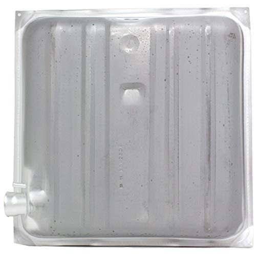(16 Gallon Fuel Tank For 57 Chevy Bel Air Two-Ten Series Silver W/Square Corners)