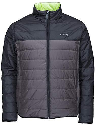 Body Glove Black-Charcoal Point Reversible Jacket (XL, Black)