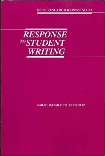 Book Response to Student Writing by Sarah Warshauer Freedman (1987-11-03)