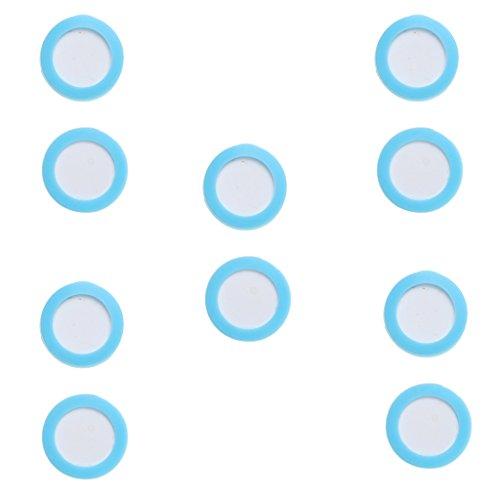 Jili Online 10-Piece Dia.2cm/3cm Aquarium CO2 Diffuser Atomizer Ceramic Disc Replacement Carbon Dioxide Refinement Membrane for Aquatic Plants Co2 Supply - 3cm by Jili Online